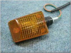 blikač hranatý - 23W [oranžové sklo] č. 34