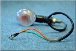 Turn signal light, oval 18473-1 [clear glass](900033)