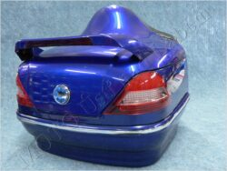 Tour tail trunk Mercedes blue metallic paint