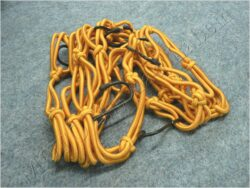 Helmet cargo net bag, w/ metal hooks ( MCN )