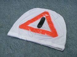 Helmet bag, warning triangle ( Louis )