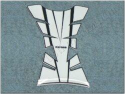 chránič nádrže Sheer Arrow - černo/bílý ( Oxford )