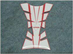chránič nádrže Sheer Arrow - červeno/bílý ( Oxford )