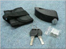 brake disc lock with alarm - black (TOKOZ)