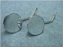 Rear view mirror assy. R.+L. circle M10x1,25 RH, mini SM-823 ( UNI )
