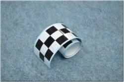Sticker checkered pattern  - 140x4,5 cm ( UNI )
