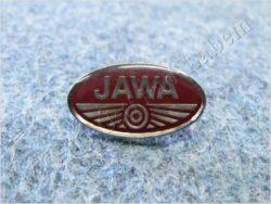 Pin badge JAWA red