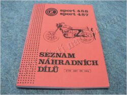 Spare parts catalogue ( ČZ 125/488,175/487 SPORT )