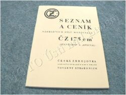 Spare parts catalogue ( ČZ 175 - STANDART/SPECIAL )