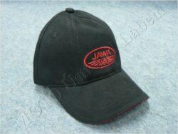 čepice s kšiltem - logo JAWA - černá