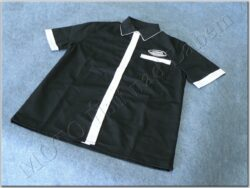 Shirt black-white logo Jawa