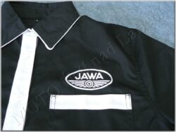 košile černo-bílá s logem JAWA - vel. S(930630)