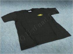 T-shirt black w/ yellow logo JAWA, Size M