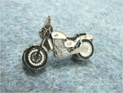 Pin badge JAWA 650 Classic (white)