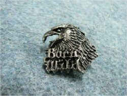 Pin badge Eagle head ( Born Wild )