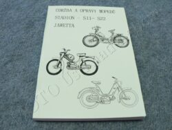 Maintenence book, workshop guide - mopeds (S11-S22, JAWETTA)