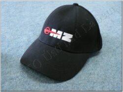 čepice s kšiltem - logo MZ - černá