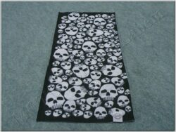 Multi-scar Comfy Skulls ( OXFORD ) black