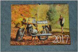 kalendář 2017 - Československé motocykly ( 450x315 )