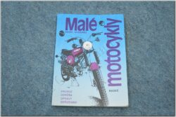Maintenence book, workshop guide, setup ( small motorcycles ) retro-1989