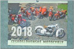 kalendář 2018 - Československé motocykly ( 420x315 )
