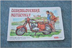 Czechoslovak motocycles - children's book ( retro library )