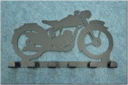 6-peg rack - Motorcycle Theme / ČZ 125,150 C