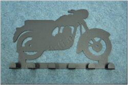 6-peg rack - Motorcycle Theme / Jawa Kyvacka