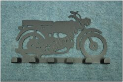 6-peg rack - Motorcycle Theme /  Jawa Pionýr 23 Mustang