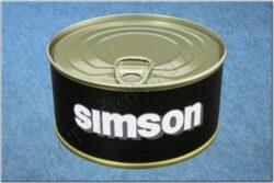 belt SIMSON / textile black - size 150cm(930818)