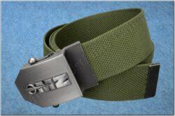 belt MZ / textile khaki - size 150cm(930823)
