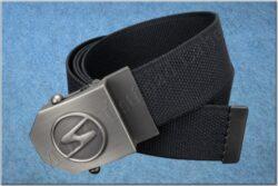 belt TRABANT / textile black - size 150cm(930824)