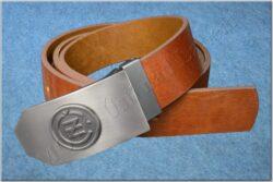 Belt ČZ brown - Size 120 cm