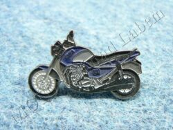Pin badge JAWA 650 Style (blue)