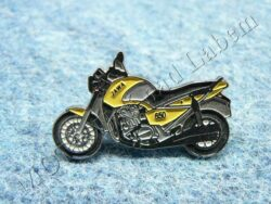 Pin badge JAWA 650 Style (yellow)
