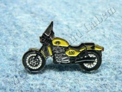 Pin badge JAWA 650 Classic (yellow)