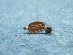 Pin badge PAV (ochre)