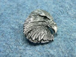 Pin badge Eagle head
