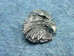 Pin badge Eagle head