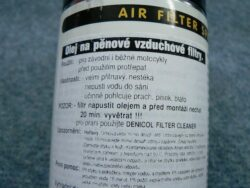 Air Filter Spray Denicol (500 ml)  (950037)