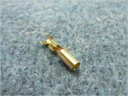 Bullet connector female 3,7 x 1 - 2,5 ( UNI, BAB )