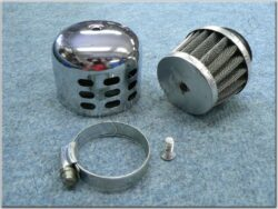 Air filter racing  D28, intake, w/ cover ( UNI,Sim ) cone little(990478)