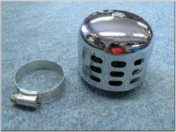 Air filter racing  D35, intake, w/ cover ( UNI,Jawa,ČZ ) cone little