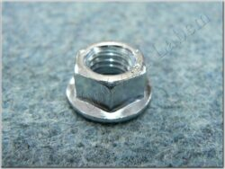 Nut hex M10x1,5 w/ toothing / spanner 17 / m=10