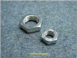 Nut hex M10x1,0  / spanner 17 / m=5