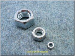 Nut hex M10x1,0 / spanner 17 / m=8